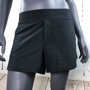 APANA black athletic shorts